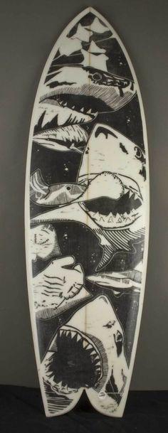 Gar Surfboards by Albert Garr, via Behance