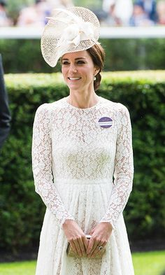 In a week that has seen Kate Middleton step out in style each day, the Duchess stunned in another elegant ensemble, this time by Dolce & Gabbana.