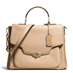 Fall into Fall with this Madison Sadie Flap Satchel! #Coach