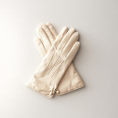 By Steven Alan Classic Leather Glove ($119) ❤ liked on Polyvore