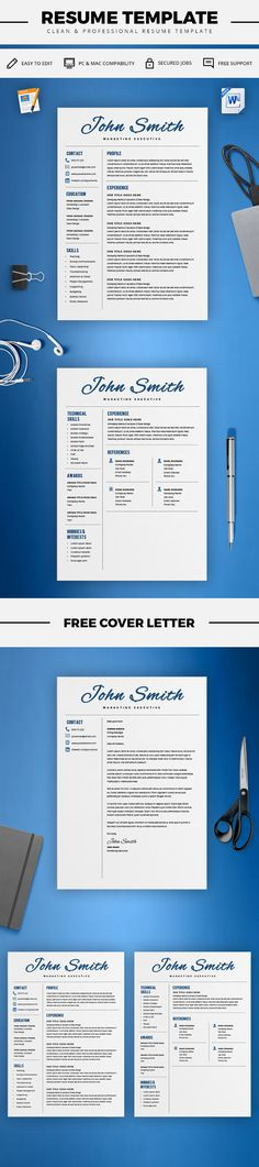 Resume Template Marketing Resume Template Word Creative Resume