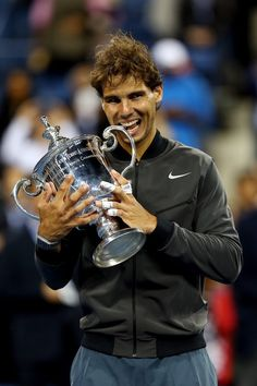 RAFAEL NADAL 2013 US OPEN CHAMPION!