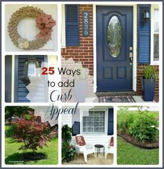 This post brought to you by <em class=short_underline> Gilmour </em>. The content and opinions expressed below are that of The Gardening Cook.  Jazz up your Home Look with these 22 Secrets to Create Curb Appeal.  There is a saying that one can only have one first impression. That saying applies to the front of your home as well as to your personality or appearance. The front door and entry is the focal point of your home, and ...