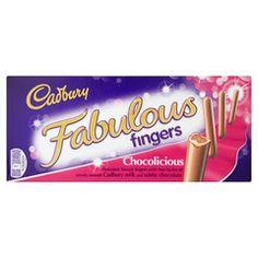 -in USA- Cadbury Fabulous Fingers - 110g