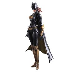 Batman+Arkham+Knight+Play+Arts+Kai+figurine+Batgirl+Square+Enix