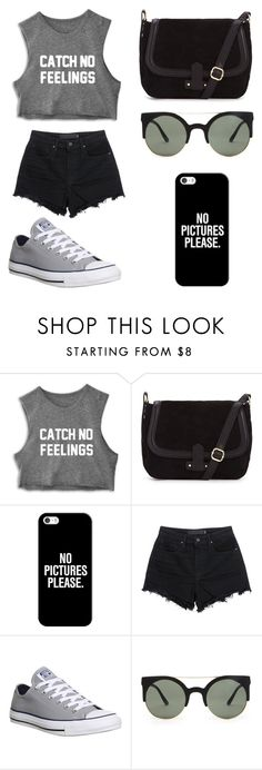 """Untitled #103"" by karenrodriguez-iv on Polyvore featuring Casetify, T By Alexander Wang, Converse, Forever 21, women's clothing, women, female, woman, misses and juniors"