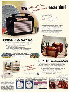 Crosley radio 1940