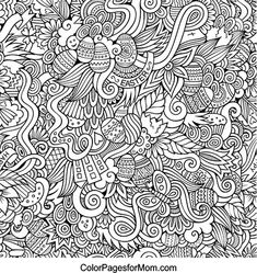 Doodles 16 Coloring Page