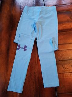 397dc2a4ab8bee Womens Under Armour Blue Fitted Yoga Gym Running Tights Size XS #fashion # clothing #