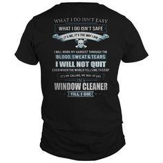 I Love WINDOW CLEANER Shirts & Tees