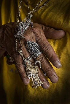 Santa Muerte jewelry