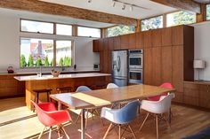 kitchen clerestory windows wood floors white counters For the Price of a SoHo Studio - Slide Show - NYTimes.com