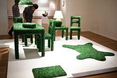 Astro-turf furniture