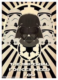 Star Wars Propaganda @nedhardy.com