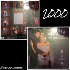 Buffy the Vampire Slayer - 2000 Calendar  #btvscollector #btvs #buffy #buffythevampireslayer