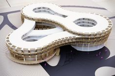 Myrtle Garden Hotel ~ GRAFT Architects penda Xiangyang China Proposal architecture