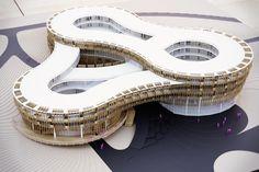 Myrtle Garden Hotel~ GRAFT ArchitectspendaXiangyangChinaProposalarchitecture