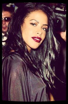 "Aaliyah is ""hot like fire"" :) xx"