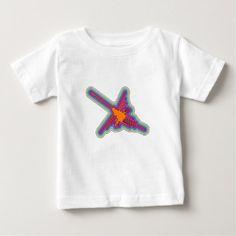 Nazca Hummingbird Peru Drawing Baby T-Shirt - drawing sketch design graphic draw personalize