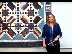 Strip Pattern - Dazzle by Cozy Quilt Designs Love this idea would ... : cozy quilts youtube - Adamdwight.com