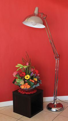 The NEW Chrome Angle Poise Floor Lamp From Eurolux Check Out Our New Lamps