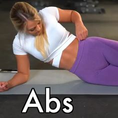 Challenge your abs with this standing abs workout. This belly pooch routine with weights will work your arms and abs. This is the best at home workout for women who want a flat stomach and six pack abs. Easy Ab Workout, Gym Workout Tips, Ab Workout At Home, Butt Workout, Workout Challenge, Workout Videos, At Home Workouts, Cardio Gym, Gym Tips