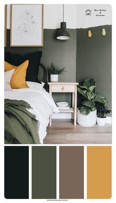 fall color palette idea for bedroom #bedroom #color #schemes #brown #bedroomcolorschemesbrown