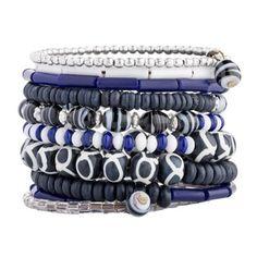 Handcrafted Multi-Strand Beaded Bracelet - Beach Ball (Guatemala)   Overstock.com Shopping - The Best Deals on Bracelets