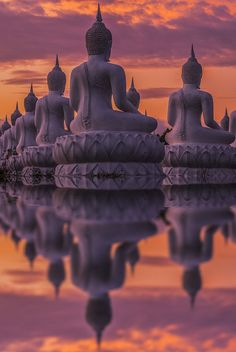 Reflection of Buddha- Thailand                                                                                                                                                                                 More