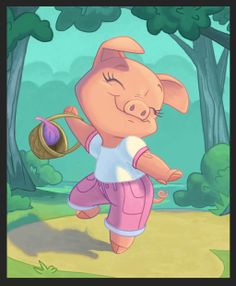 Dancing Pig by chewgag on deviantART