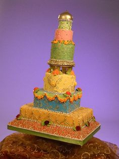 Bollywood theme cake