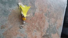 Stunning yellow frosted flower, with silver chains, caps and fixings a charming gift for your bridesmaids or just to show a friend you care this one of a kind, original, handcrafted phone/key/bag/zipper charm pendant  will make anyone smile.  Thank you for your time. | Shop this product here: http://spreesy.com/SpryHandcrafted/36 | Shop all of our products at http://spreesy.com/SpryHandcrafted    | Pinterest selling powered by Spreesy.com