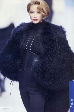 1992-93 - Claude Montana show - Christy Turlington