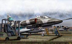 A-4 Skyhawk - Argentina during Falklands War