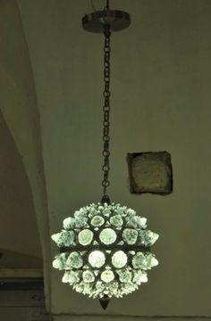 Prototype de lanterne design par les Artisans du Lustre. www.i-lustres.com