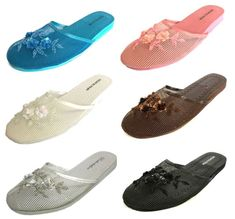 Frugal New Women Lady Chinese Mesh Slippers Assorted Colors And Sizes Slippers