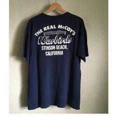 希少 旧 THE REAL McCOY'S/US ARMY AIR FOCE/Tシャツ/L/紺_画像2