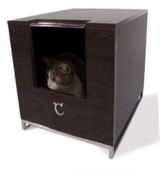 Modern Cat Contemporary Litter Hider