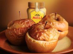 Gevulde appel - Meli honing