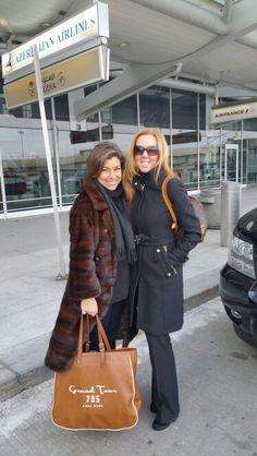 Shop & Talk com amiga Consuelo Pascolato