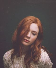 Gorgeous shot. Love her hair