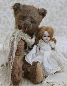 Old bear and a friend. . .