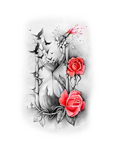 (notitle) - Tattoo - Tattoo Designs For Women Daisy Tattoo Designs, Music Tattoo Designs, Clock Tattoo Design, Tattoo Designs For Women, Girly Tattoos, Cute Tattoos, Beautiful Tattoos, Flower Tattoos, Forarm Tattoos