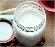 Dare to Go Hazel-nuts: Homemade Hazelnut Milk!   TeamZ: Getting Off The Couch