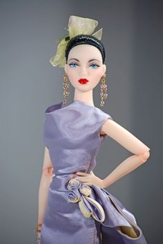 THE STUDIO COMMISSARY: Gene models her new outfit>>>>  -   Posted by Pamnaz [Email User] on November 1, 2015, 2:49 am.   Lavender Lights by Ashton-Drake (this is one I had my eye on for a long time)!   (2 PICS)