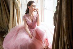 Award Winning Bridal Wear from Ireland – Bridal, Bridesmaid and Communion on Special Day… Tea Length Bridesmaid Dresses, Prom Dresses, Formal Dresses, Pink Lace, Communion, Special Day, Ball Gowns, Awards, Bridal
