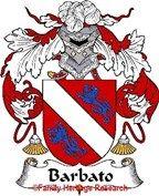 Barbato Spanish Coat of Arms Print Family Crest Barbato
