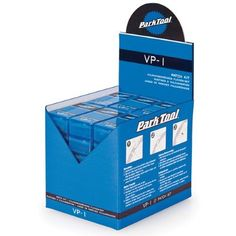 Park Tool VP-1 Vulcanizing Patch Kit, 36-Count Display Box