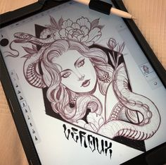 Working on some new t-shirts and raglan designs @jeanleroux   #tattoo #tattoos #mallorca #snake #snakedesign #snaketattoo #girl #girltattoo #ipadpro #ipadproart #illustration #design #peonies #instagood #tshirt #tshirtdesign #raglan