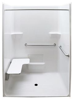 Bathroom Handicap Stalls walk-in handicap shower stall #showerstallsfordisabled >> see more